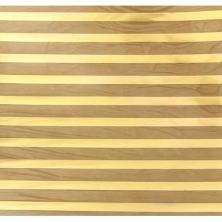 Ацетатный лист «Полоски» с золотым фольгированием 20 х 20 см от Арт Узор