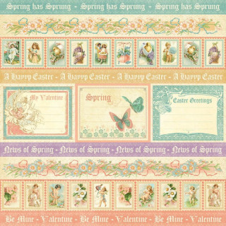 "Двустороння бумага   ""Sweet sentiments collection""  Graphic45 4500806"