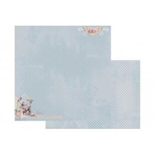 "Бумага для скрапбукинга двусторонняя fd1002006  Коллекция ""Весенняя""  , 30*30см Fleur Design"
