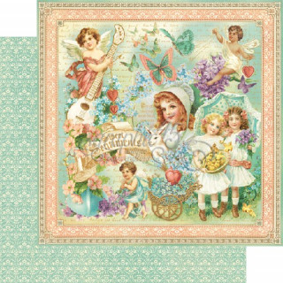 "Двустороння бумага   ""Sweet sentiments collection""  Graphic45 4500800"