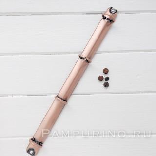 """Кольцевой механизм на 4 кольца """"Красная бронза"""" A4 2 см - диаметр кольца. с креплениями."""