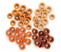 Люверсы Orange от We R Memory Keepers 60 шт.