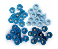 Люверсы Blue от We R Memory Keepers 60 шт.