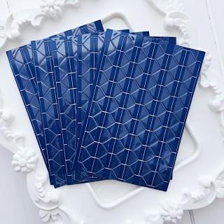 Уголки для фото прозрачные на темно синем