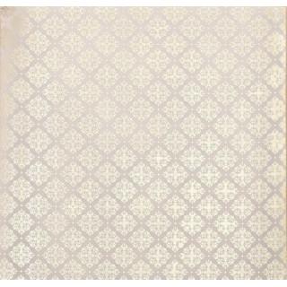 Калька/Веллум «Королевский узор» с золотым фольгированием 30.5 х 30.5 см от Арт Узор