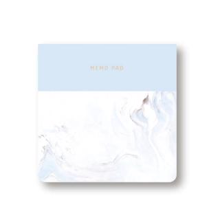 """Бумажные стикеры для записей """"Мрамор"""" 9х9см, 100 листов"""