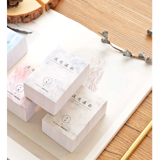 Бумажный блок для записей  5,5х8см, 400 листов