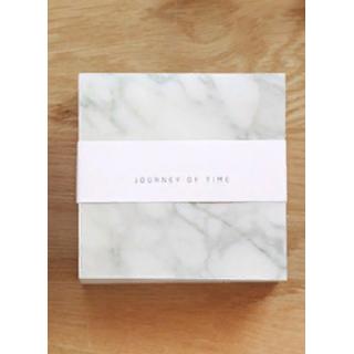 """Бумажный блок для записей """"Мрамор"""" 10х10см, 400 листов"""