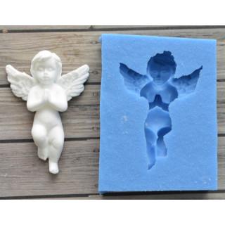 """Молд силиконовый  """"Молящиеся  ангел""""  5х3см  Арт Студия Просвет"""