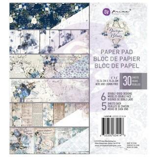 Набор бумаги 15х15 см Georgia Blues от Prima Marketing