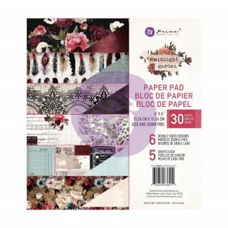 Набор бумаги 15х15 см Midnight Garden от Prima Marketing