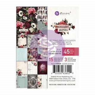 Карточки 10х7,5см  Midnight Garden  от Prima Marketing