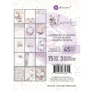 Карточки 10х7,5см  Lavender frost от Prima Marketing