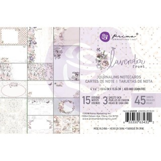 Карточки 10х15 см  Lavender frost от Prima Marketing