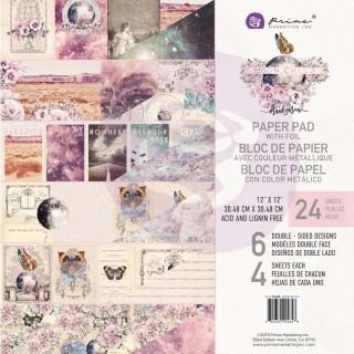 Набор бумаги 30х30 см  Moon Child от Prima Marketing