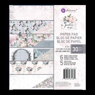 Набор бумаги 15х15 см Poetic Rose от Prima Marketing