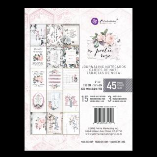 Карточки 10х7,5см Poetic Rose от Prima Marketing