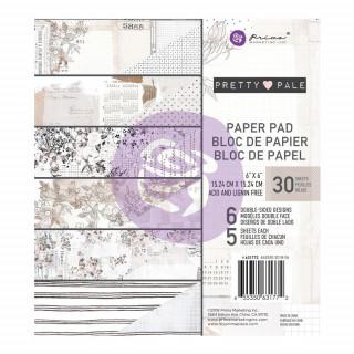 Набор бумаги 15х15 см Pretty Pale от Prima Marketing