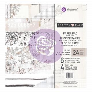 Набор бумаги 30х30 см  Pretty Pale от Prima Marketing
