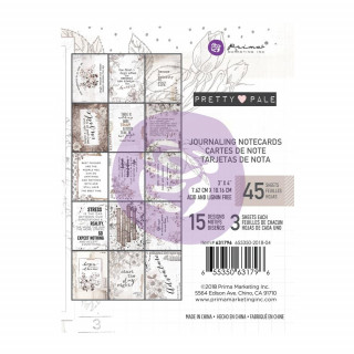 Карточки 10х7,5см   Pretty Pale от Prima Marketing
