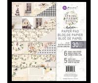 Набор бумаги 20х20 см Spring Farmhouse от Prima Marketing