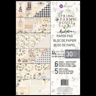 Набор бумаги А 4 Spring Farmhouse от Prima Marketing