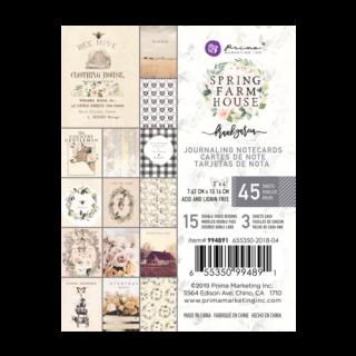 Карточки 10х7,5см Spring Farmhouse от Prima Marketing
