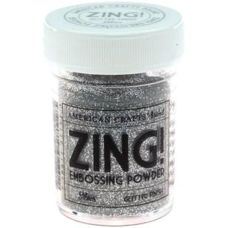 """Пудра для эмбоссинга """"American Crafts"""" ZING арт.МР.27152 """"Silver Glitter"""""""