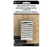 Сменный подушечки  для инструмента смешивания чернил Ink Blending Foam 10/Pkg от RANGER