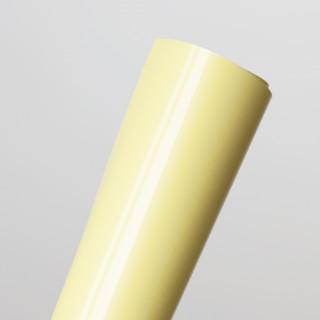 """Термотрансферная пленка тонкая """"Пастельно-Желтый""""  25х25 см. Франция"""