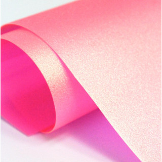 Кожзам Хамелеон Цвет-Розово-золотой  25х50 см.