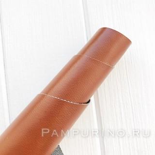 Искусственная кожа коричневый 50х35см