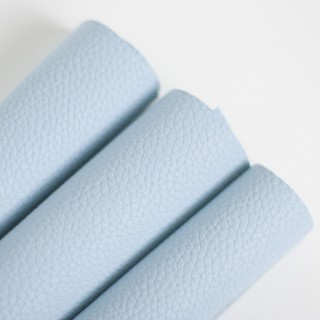 Кожзам с тиснением под кожу, Цвет Светло-голубой 35х45 см.