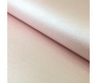 """Перламутровый кожзам с тиснением под кожу """"Цвет - нежно -розовый"""" 30х50 см."""