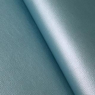 """Перламутровый кожзам с тиснением под кожу """"Голубой"""" 35х50 см."""