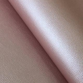 """Перламутровый кожзам с тиснением под кожу """"Розовый"""" 35х45 см."""