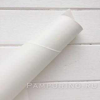 "Переплетный кожзам матовый цвет ""Белый"" 35х50см"