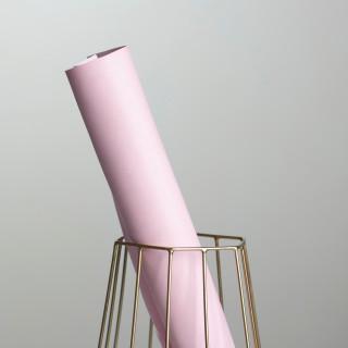 """Переплетный кожзам матовый цвет """"Светло розовый"""" 25х70см"""
