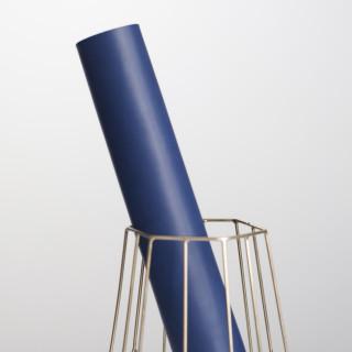 """Переплетный кожзам матовый цвет """"Глубокая синь"""" 35х52 см"""
