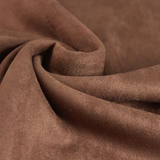 """Двусторонняя замша Soft-Touch """"Цвет - Орехово-коричневый"""" 35х50 см. Супер-приятная!"""