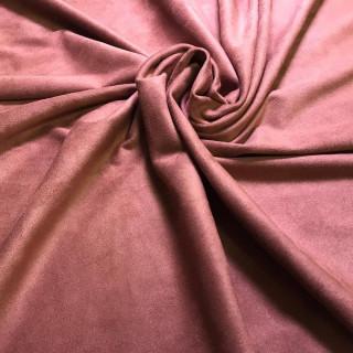 """Двусторонняя замша Soft-Touch """"Темная пыльная Роза"""" 35х50 см. Супер-приятная!"""