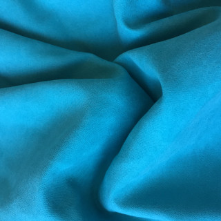 Супер Тонкая Ткань под замшу, Цвет - Бирюзовый 35х50 см