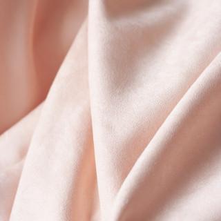 Супер тонкая Ткань под замшу, Цвет - Светло-Персиковый 35х50 см