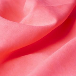 Микро-замша Soft-Touch односторонняя, Цвет - Неоновый коралл  35х50 см. не тянется