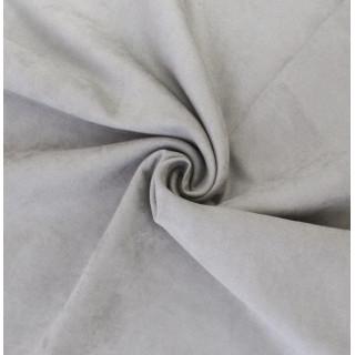Микро-замша Soft-Touch односторонняя, Цвет - Светло-серый 35х50 см.  не тянется