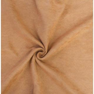 Микро-замша Soft-Touch односторонняя, Цвет - Нежная охра 35х50 см.  не тянется