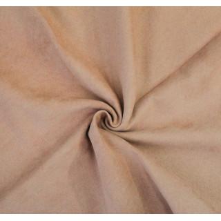 Микро-замша Soft-Touch односторонняя, Цвет - Бежевый 35х50 см.  не тянется
