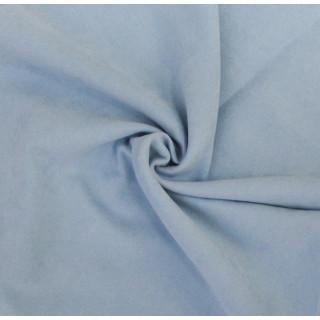 Микро-замша Soft-Touch односторонняя, Цвет - Небесно-голубой 35х50 см.  не тянется