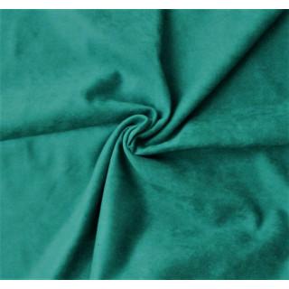 Микро-замша Soft-Touch односторонняя, Цвет - Изумрудный 35х50 см.  не тянется