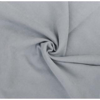 Микро-замша Soft-Touch односторонняя, Цвет - Нежно-голубой 35х50 см.  не тянется